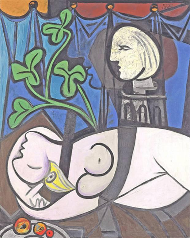 pablo-picasso- Marie-Thérèse Walter